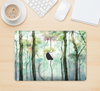 "The Watercolor Glowing Sky Forrest Skin Kit for the 12"" Apple MacBook"