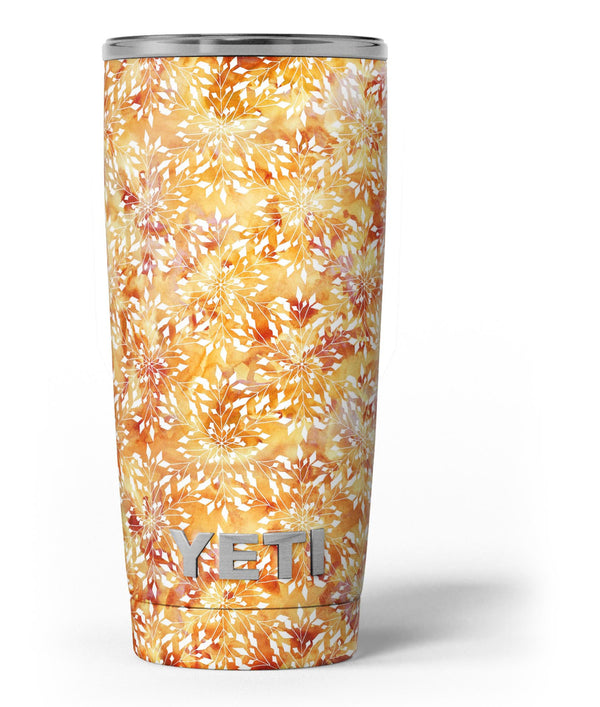 The_Watercolor_Orange_and_Red_Snow_Crystal_-_Yeti_Rambler_Skin_Kit_-_20oz_-_V3.jpg