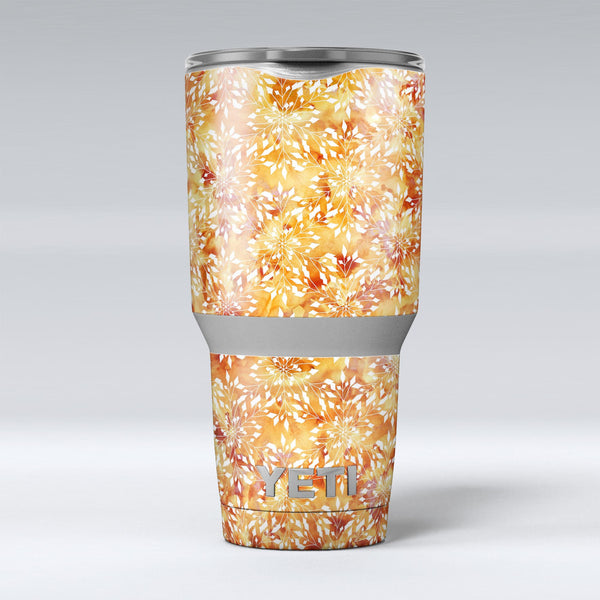 The_Watercolor_Orange_and_Red_Snow_Crystal_-_Yeti_Rambler_Skin_Kit_-_30oz_-_V1.jpg