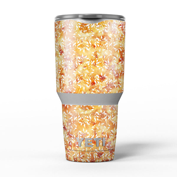 The_Watercolor_Orange_and_Red_Snow_Crystal_-_Yeti_Rambler_Skin_Kit_-_30oz_-_V5.jpg