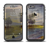 The Watercolor River Scenery Apple iPhone 6 LifeProof Fre Case Skin Set