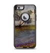 The Watercolor River Scenery Apple iPhone 6 Otterbox Defender Case Skin Set