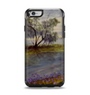 The Watercolor River Scenery Apple iPhone 6 Otterbox Symmetry Case Skin Set
