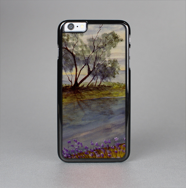 The Watercolor River Scenery Skin-Sert Case for the Apple iPhone 6 Plus