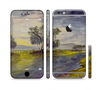 The Watercolor River Scenery Sectioned Skin Series for the Apple iPhone 6 Plus