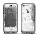 The Watered Floral Glass Apple iPhone 5c LifeProof Nuud Case Skin Set