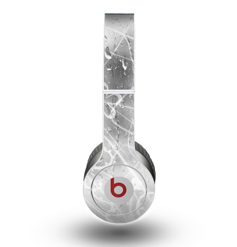 The Watered Floral Glass Skin for the Beats by Dre Original Solo-Solo HD Headphones