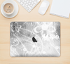 "The Watered Floral Glass Skin Kit for the 12"" Apple MacBook"