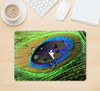 "The Watered Neon Peacock Feather Skin Kit for the 12"" Apple MacBook"