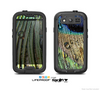 The Watered Peacock Detail Skin For The Samsung Galaxy S3 LifeProof Case