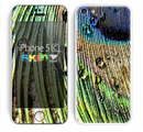 The Watered Peacock Detail Skin for the Apple iPhone 5c