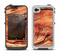The Wavy Bright Wood Knot Apple iPhone 4-4s LifeProof Fre Case Skin Set