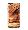 The Wavy Bright Wood Knot Apple iPhone 6 Plus Otterbox Symmetry Case Skin Set