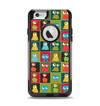 The Weird Abstract EyeBall Creatures Apple iPhone 6 Otterbox Commuter Case Skin Set