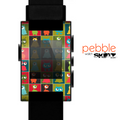 The Weird Abstract EyeBall Creatures Skin for the Pebble SmartWatch