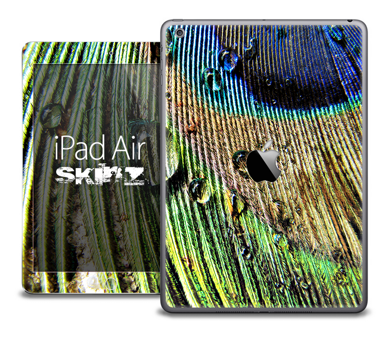 The Wet Peacock Skin for the iPad Air