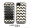 The White Chevron & Small Vector Cheetah Animal Print Skin for the Apple iPhone 5c LifeProof Case
