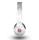 The White Cracked Rock Surface Skin for the Beats by Dre Original Solo-Solo HD Headphones