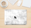 "The White Cracked Rock Surface Skin Kit for the 12"" Apple MacBook"