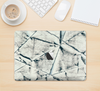 "The White Cracked Woven Texture Skin Kit for the 12"" Apple MacBook"