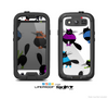 The White & Cute Fashion Cats Skin For The Samsung Galaxy S3 LifeProof Case