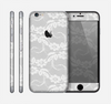 The White Floral Lace Skin for the Apple iPhone 6