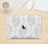 "The White Floral Lace Skin Kit for the 12"" Apple MacBook"