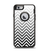 The White & Gradient Sharp Chevron Apple iPhone 6 Otterbox Defender Case Skin Set