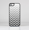 The White & Gradient Sharp Chevron Skin-Sert for the Apple iPhone 5c Skin-Sert Case