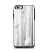 The White & Gray Wood Planks Apple iPhone 6 Plus Otterbox Symmetry Case Skin Set