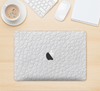 "The White Leather Texture Skin Kit for the 12"" Apple MacBook"