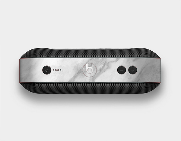 The White Marble Surface Skin Set for the Beats Pill Plus