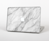 "The White Marble Surface Skin Set for the Apple MacBook Pro 15"" with Retina Display"
