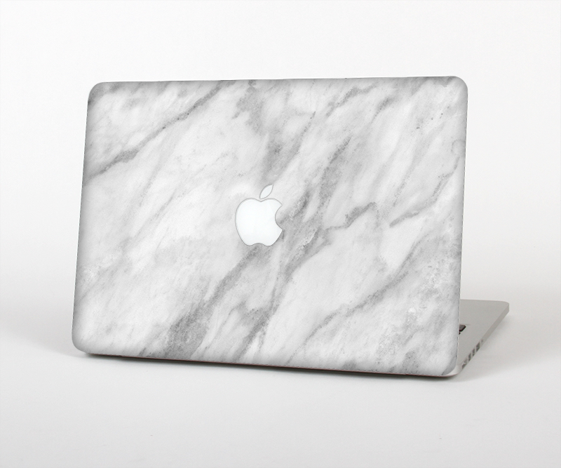 The White Marble Surface Skin Set for the Apple MacBook Air 13