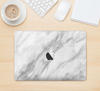 "The White Marble Surface Skin Kit for the 12"" Apple MacBook"
