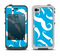 The White Mustaches with blue background Apple iPhone 4-4s LifeProof Fre Case Skin Set