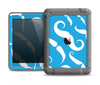 The White Mustaches with blue background Apple iPad Air LifeProof Fre Case Skin Set