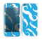 The White Mustaches with blue background Skin for the Apple iPhone 5c