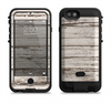 the white painted aged wood planks  iPhone 6/6s Plus LifeProof Fre POWER Case Skin Kit