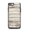 The White Painted Aged Wood Planks Apple iPhone 6 Otterbox Symmetry Case Skin Set