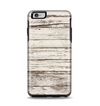 The White Painted Aged Wood Planks Apple iPhone 6 Plus Otterbox Symmetry Case Skin Set