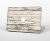 The White Painted Aged Wood Planks Skin Set for the Apple MacBook Pro 15""