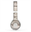 The White Painted Aged Wood Planks Skin for the Beats by Dre Solo 2 Headphones