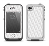 The White Studded Seamless Pattern Apple iPhone 4-4s LifeProof Fre Case Skin Set