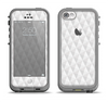 The White Studded Seamless Pattern Apple iPhone 5c LifeProof Fre Case Skin Set