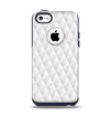 The White Studded Seamless Pattern Apple iPhone 5c Otterbox Commuter Case Skin Set