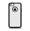 The White Studded Seamless Pattern Apple iPhone 5c Otterbox Defender Case Skin Set