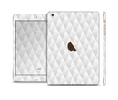 The White Studded Seamless Pattern Full Body Skin Set for the Apple iPad Mini 3