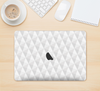 "The White Studded Seamless Pattern Skin Kit for the 12"" Apple MacBook"