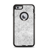 The White Textured Lace Apple iPhone 6 Plus Otterbox Defender Case Skin Set